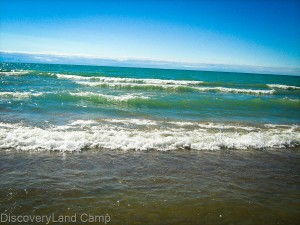 Toronto summer camp: beautiful Huron Lake Ontario