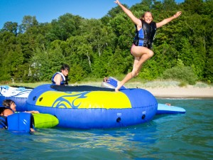 summer camp programs - water fun